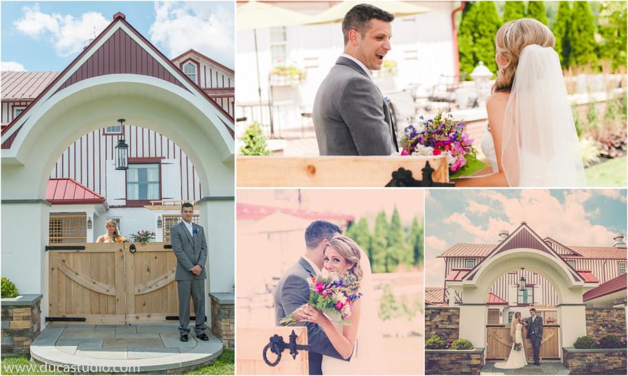 amanda michael normandy farm wedding duca studio