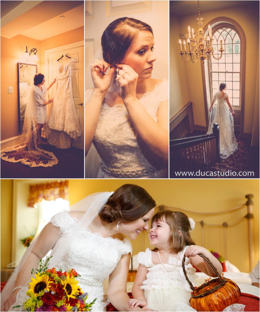 NORMANDY FARM BRIDE PHOTOGRAPHS