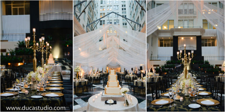 Atrium At Curtis Center Wedding Photographer