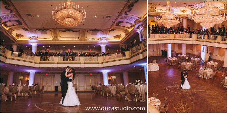 Hyatt At The Bellevue Wedding Reception
